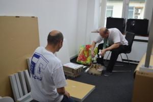 Услуги по перевозке мебели в дургой офис