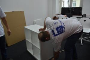 Сборка мебели для офисов
