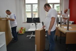 Переезд офисной мебели под ключ
