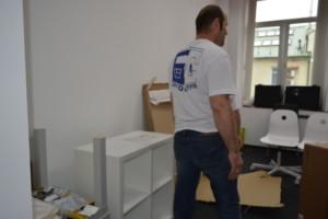 Мастера по переезду офисов