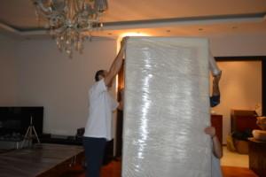 Упаковка и перевозка мебели в Москве