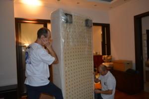 Упаковка мебели и переезд