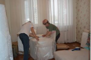 Помощь при упаковке и транспортировке мебели