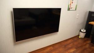 висящий телевизор