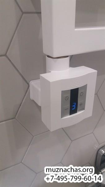 монтаж электрического полотенцесушителя