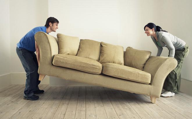 Передвинуть мебель