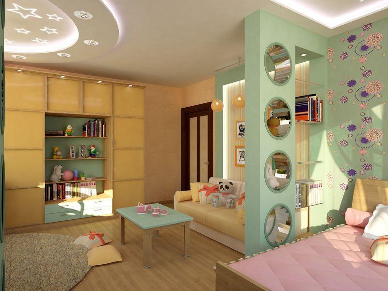 детская комната после ремонта