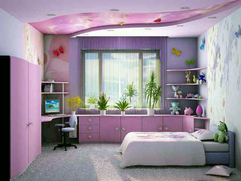 комната для девочки после ремонта