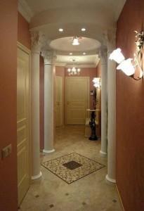 Косметический ремонт коридора
