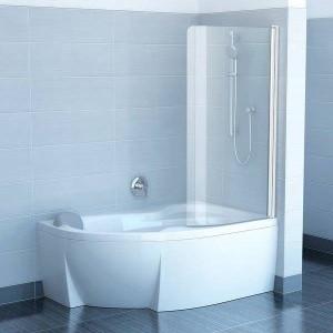 Монтаж шторки для ванной