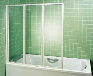 Монтаж шторки для ванны