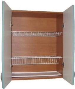 Повесить навесной шкаф на кухне