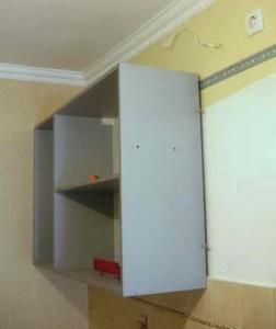 Повесить навесной шкаф недорого