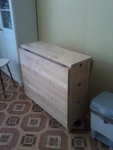 Сборка столов на дому
