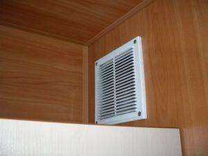 Установка вентиляционных решеток оперативно
