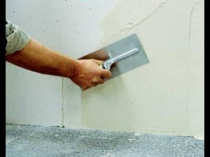 Шпаклевка стен оперативно